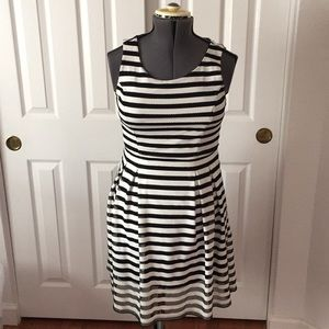 INC fit and flare dress